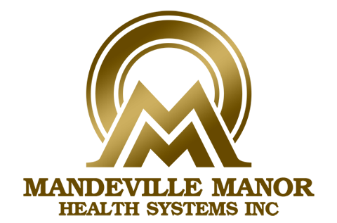 Mandeville-Manor-Health-Systems-Inc-logo design by Quick logo