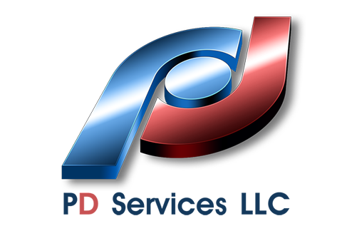 PD-Services-LLC-logo design by Quick logo